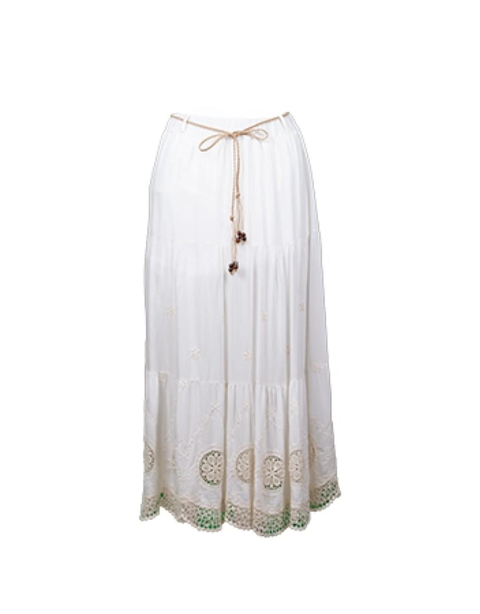 Anna Parker Anne Parker Skirt Ibiza Off White WS-005