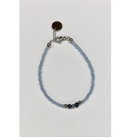 flow Flow Armband 21129 Blauw/Zilver