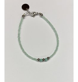 flow Flow Armband 21129 Turquoise/ Zilver