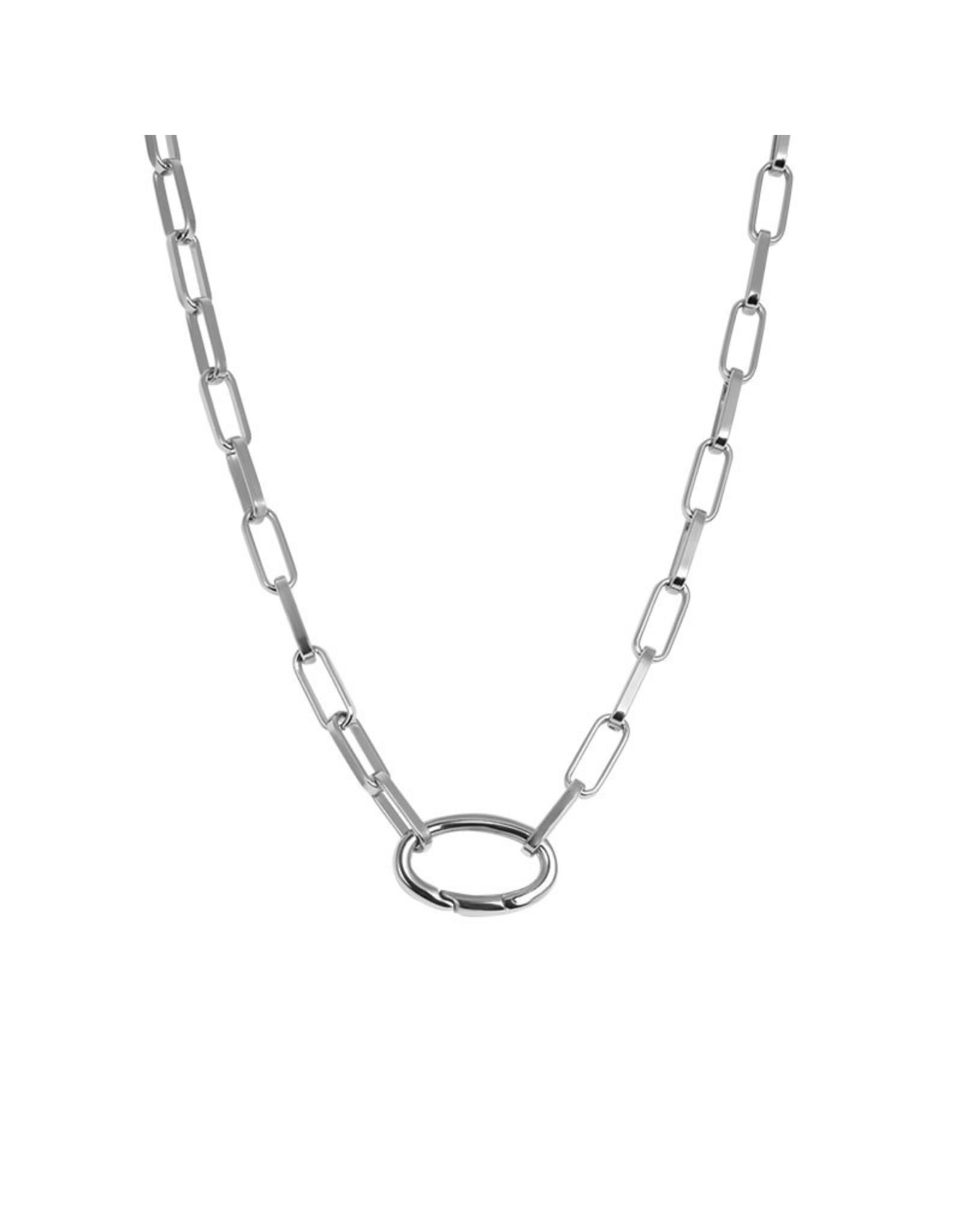 IXXXI IXXXI Square Chain  zilver