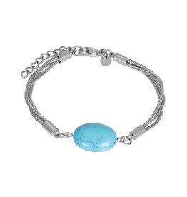 IXXXI IXXXI Bracelet Summer Silver blauw