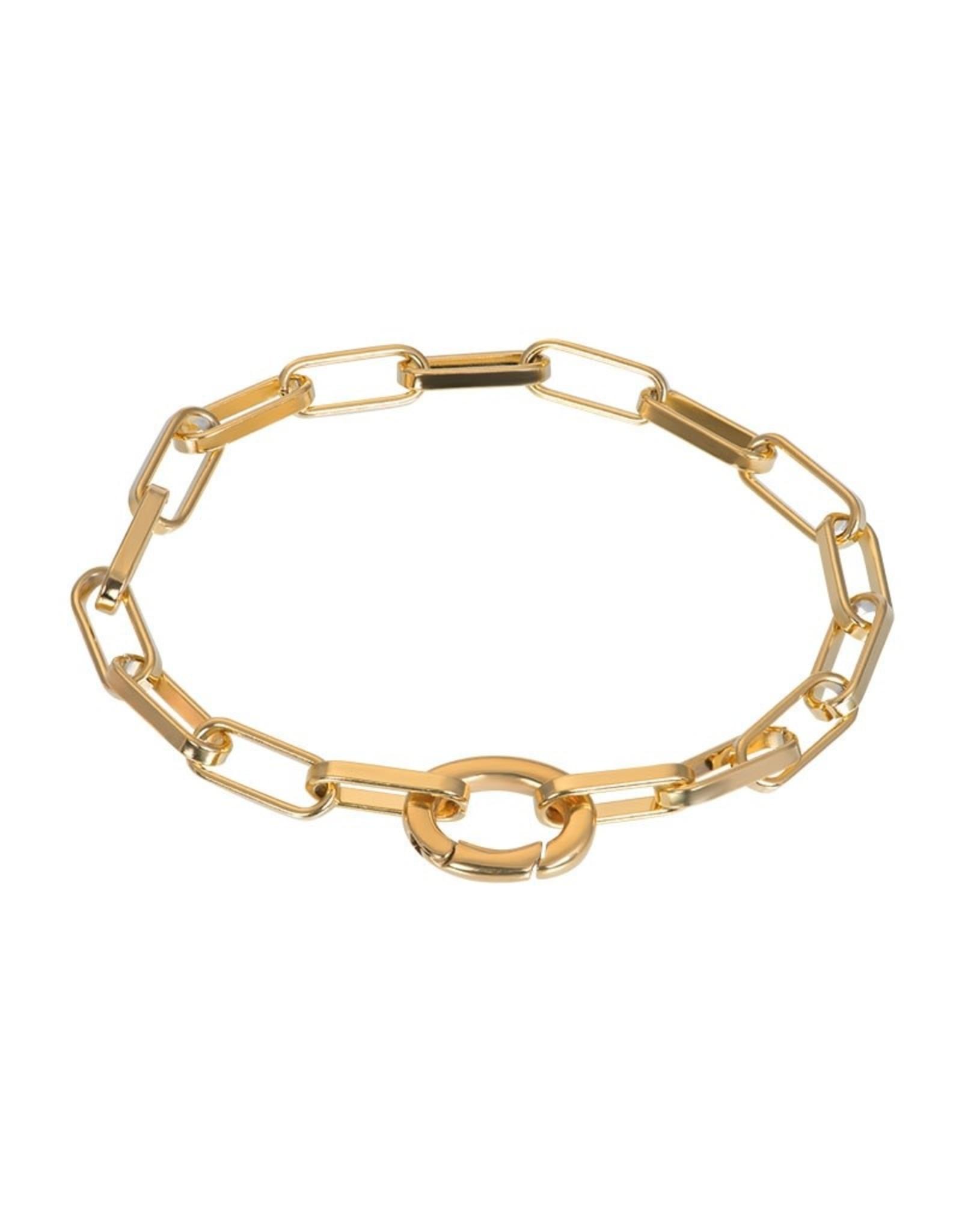 IXXXI IXXXI Bracelet Square Chain Gold