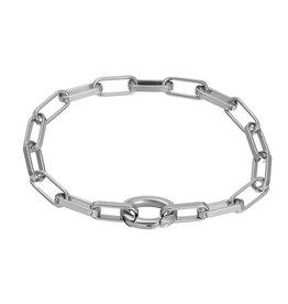 IXXXI IXXXI Bracelet Square Chain zilver