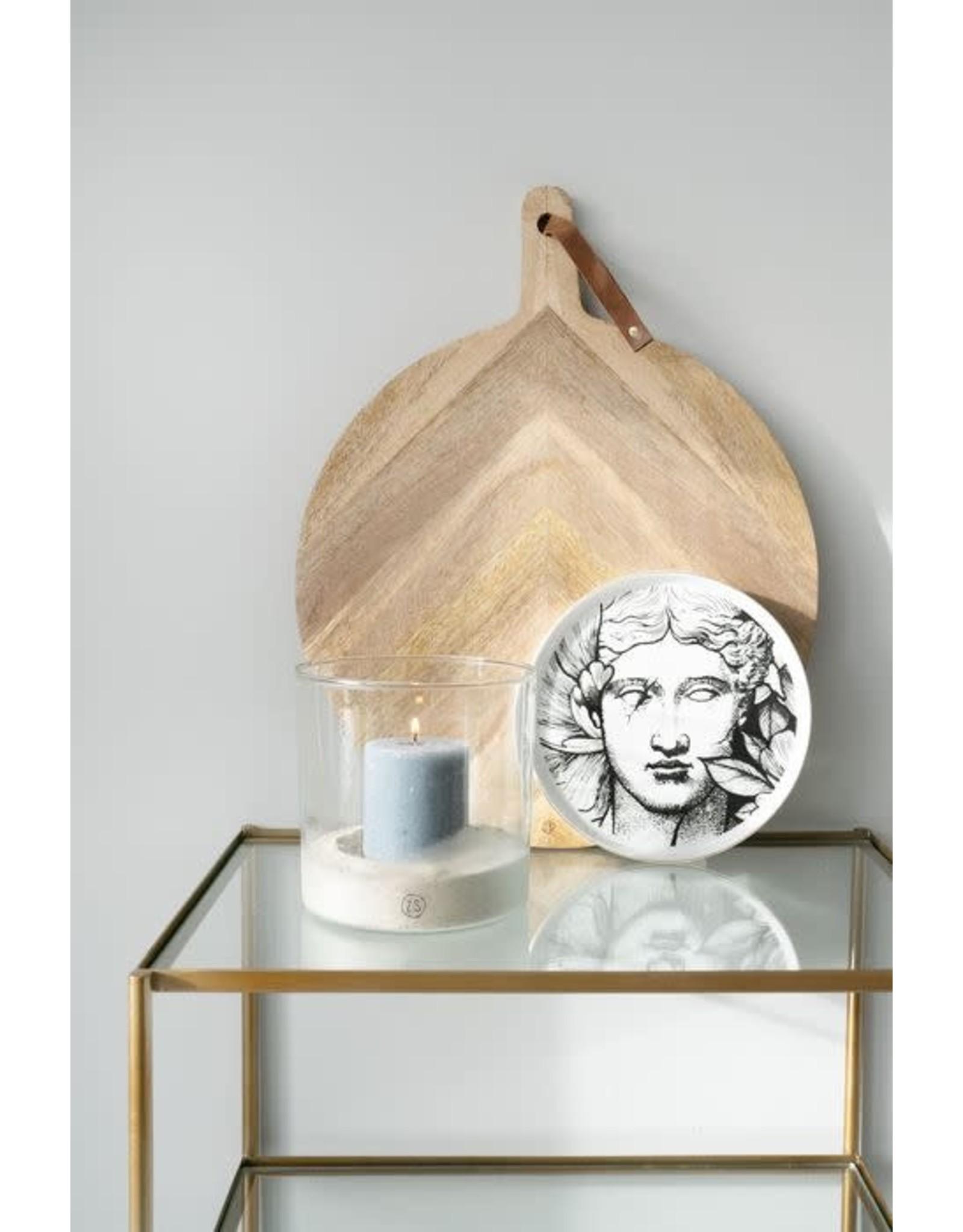 Zusss Zusss houten serveerplank rond 40 cm