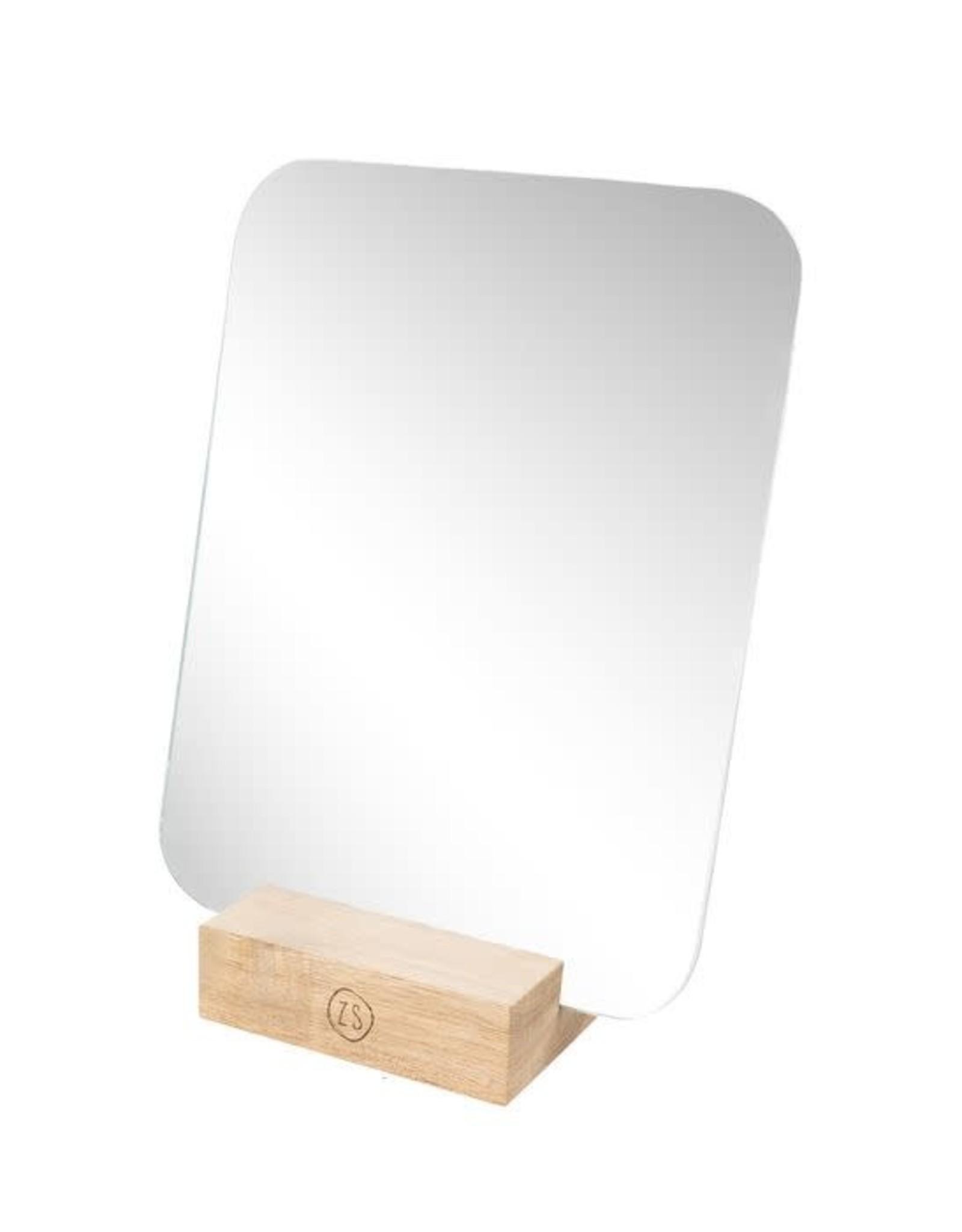 Zusss Zusss spiegel op houten voet