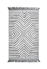 Zusss Zusss Badhanddoek Grafisch 60x115