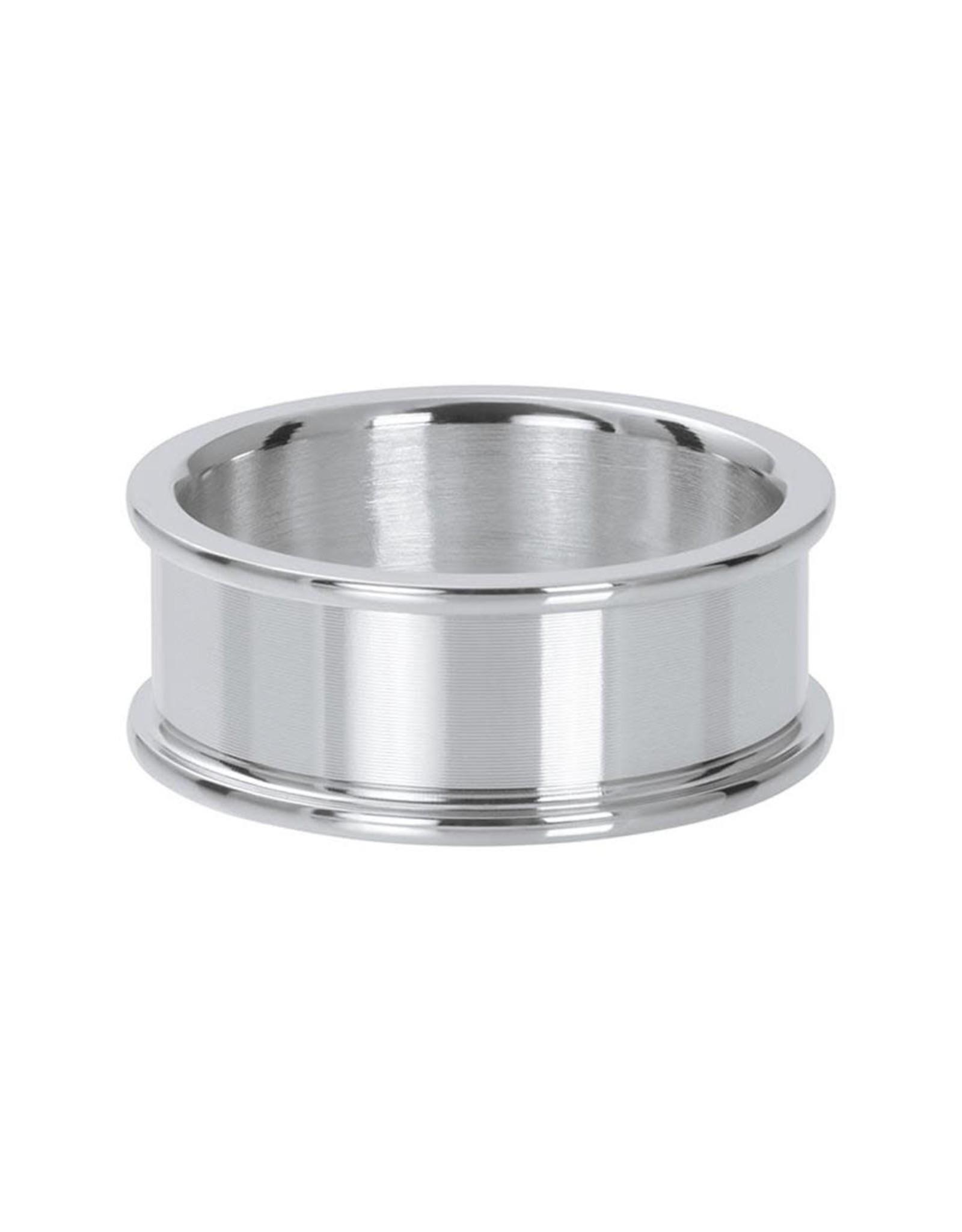IXXXI IXXXI Basisring 8mm Zilver 16