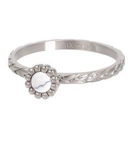 IXXXI IXXXI Ring Inspired Silver/ White 17