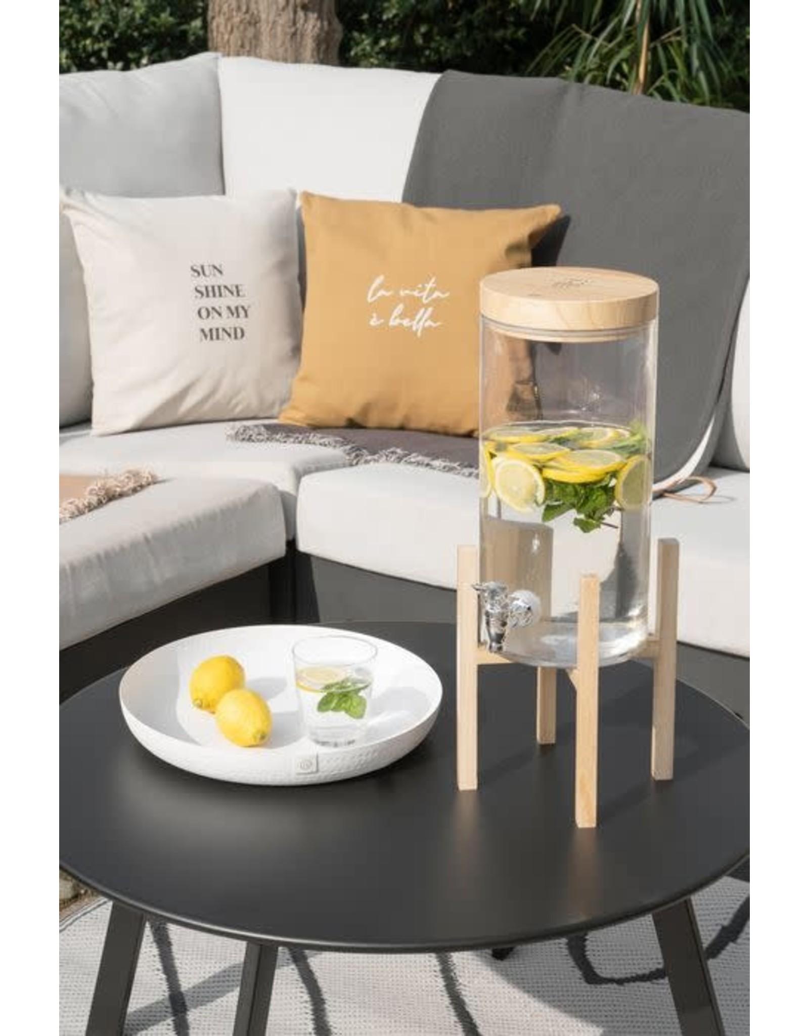 Zusss Zusss Houten tray voor limonadetap
