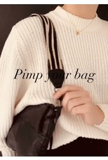 Bag2Bag Bag2Bag Schouderband Zwart 110 cm