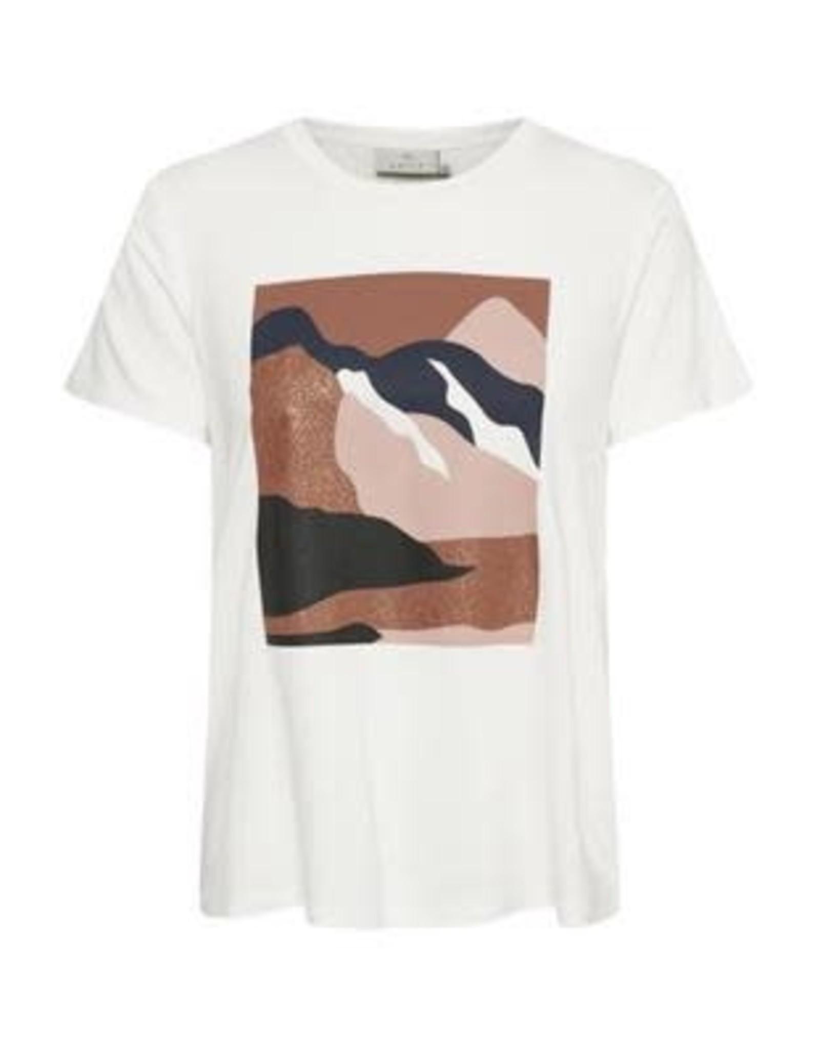Kaffe Kaffe Landy T-shirt SS