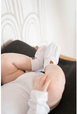 Zusss Zusss Babyslofjes hartje wit