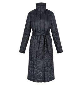 Zusss Zusss Gewatteerde winterjas zwart