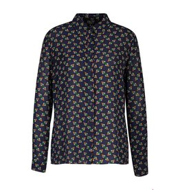 zilch Zilch Blouse Tangram Navy