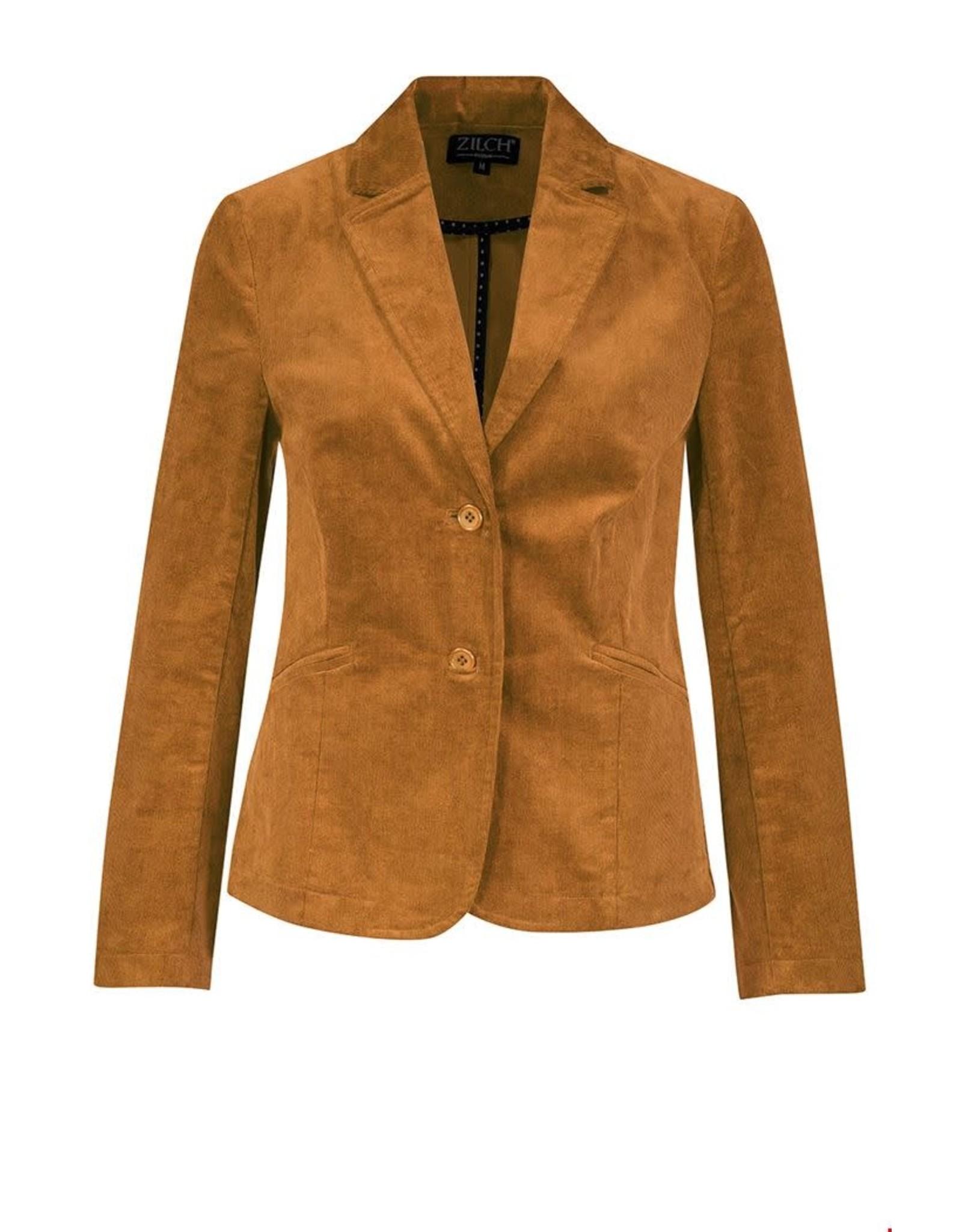 zilch Zilch Jacket Rib Cinnamon