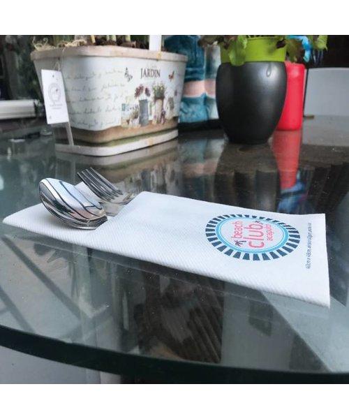 Airlaid Pochette  bedrukken