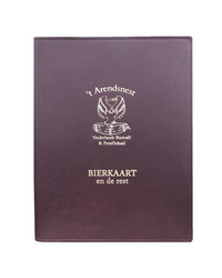 Menukaarten Durban Boekschroef