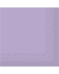 Servet Tissue 3 laags Lila 40x40cm1/4 vouw bestellen