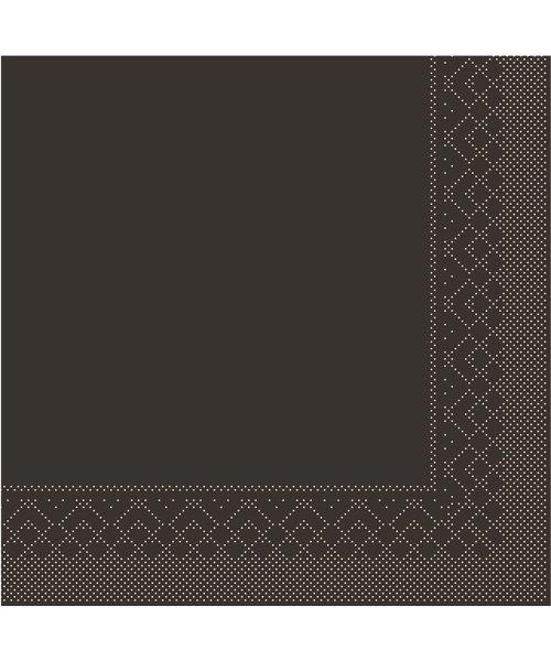 Servet Tissue 3 laags Bruin 25x25cm 1/4 vouw bestellen