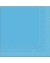 Servet Tissue 3 laags Aqua 25x25cm 1/4 vouw bestellen