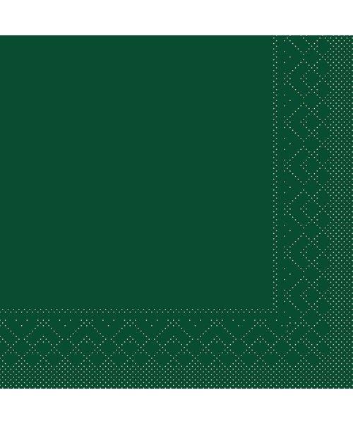 Servet Tissue 3 laags Groen 25x25cm 1/4 vouw bestellen