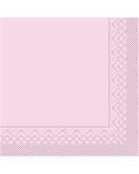 Servet Tissue 3 laags Roze 25x25cm 1/4 vouw bestellen