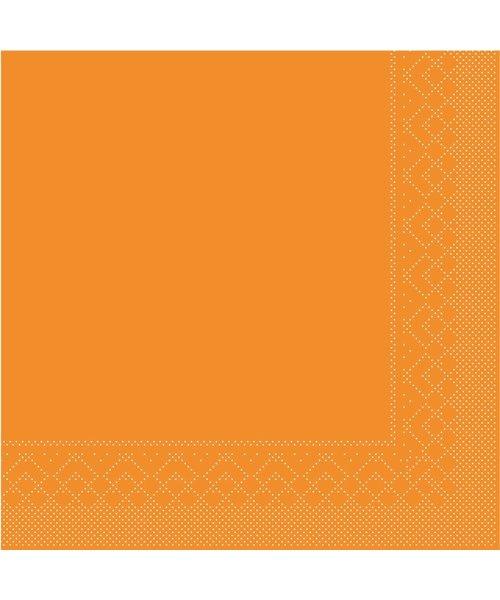 Servet Tissue 3 laags Curry 25x25cm 1/4 vouw bestellen