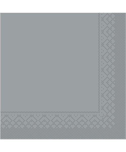 Servet Tissue 3 laags Grijs 33x33cm 1/8 vouw bestellen