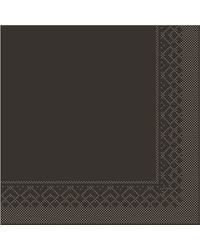 Servet Tissue 3 laags Bruin 33x33cm 1/8 vouw bestellen