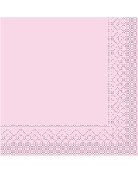 Servet Tissue 3 laags Roze 33x33cm 1/8 vouw bestellen