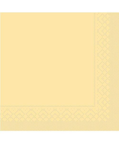 Servet Tissue 3 laags Creme 33x33cm 1/8 vouw bestellen