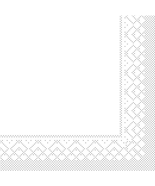 Servet Tissue 3 laags Wit 33x33cm 1/8 vouw bestellen