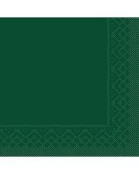 Servet Tissue 3 laags Groen 40x40cm 1/8 vouw bestellen