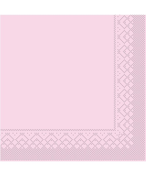 Servet Tissue 3 laags Roze 40x40cm 1/8 vouw bestellen