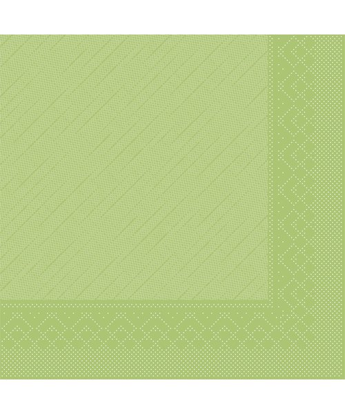 Servet Tissue Deluxe 4 laags Kiwi 40x40cm bestellen