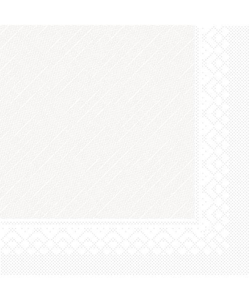 Servet Tissue Deluxe 4 laags Wit 40x40cm bestellen
