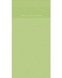 Pocket napkin Tissue Deluxe Kiwi  40x40cm 4 Lgs  1/8 vouw bestellen