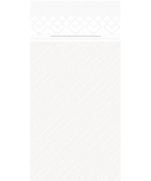 Pocket napkin Tissue Deluxe Wit 40x40cm 4 Lgs  1/8 vouw bestellen