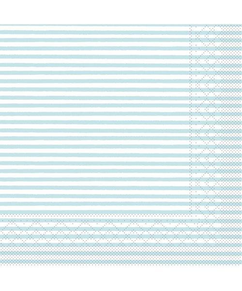Servet Tissue 3 laags Heiko Lichtblauw 40x40cm bestellen