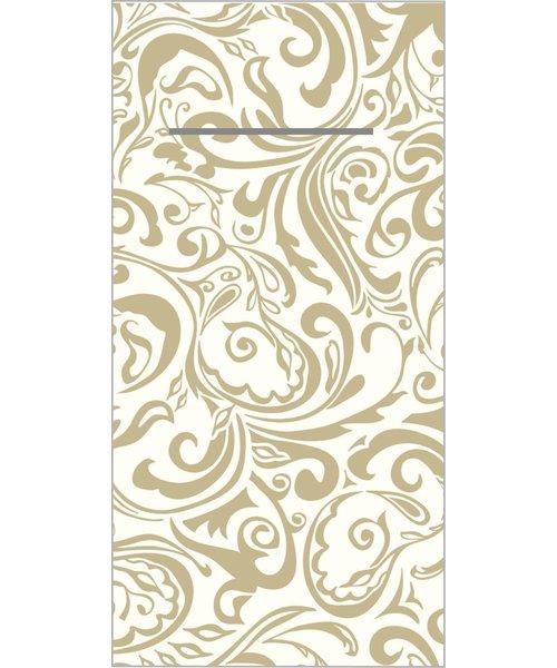 Pocket napkin Airlaid Lias Champagne 40x40cm 65Gr 1/8 vouw bestellen