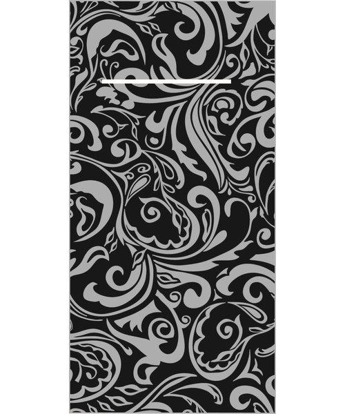 Pocket napkin Airlaid Lias Zwart/Zilver 40x40cm 65Gr 1/8 vouw bestellen - Copy