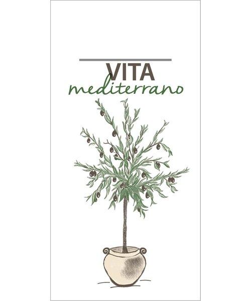 Pocket napkin Airlaid Vita Mediterrano 40x40cm 65Gr 1/8 vouw bestellen