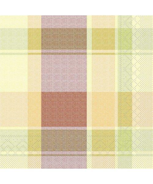 Servet Tissue 3 laags Marc Oranje/Rood 33x33cm bestellen