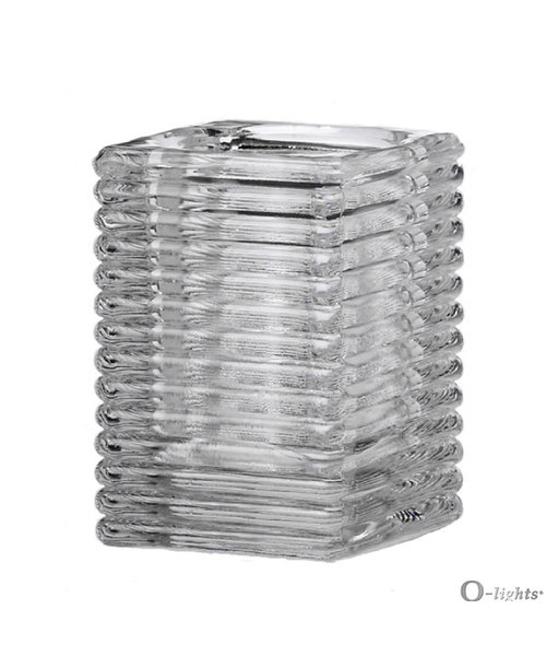 Q-Lights® Square Ribbed Glass bestellen