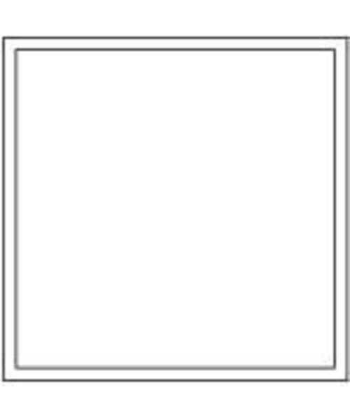 Onderzetters Vierkant Wit 95x95mm, 9 laags bestellen