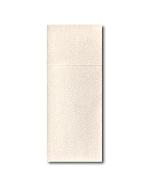 Airlaid Pochette Luxury met bestekvouw Creme bestellen