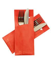 Bestekzakje Marble Orange POCH 003 bestellen