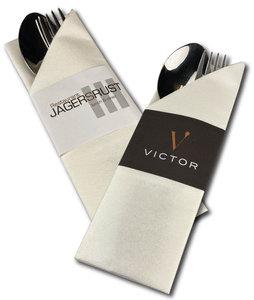 Napkin Sleeves bedrukken met eigen logo