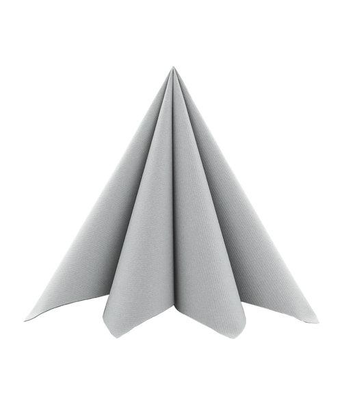 Servet Airlaid Light 24x24cm uni Grijs kopen