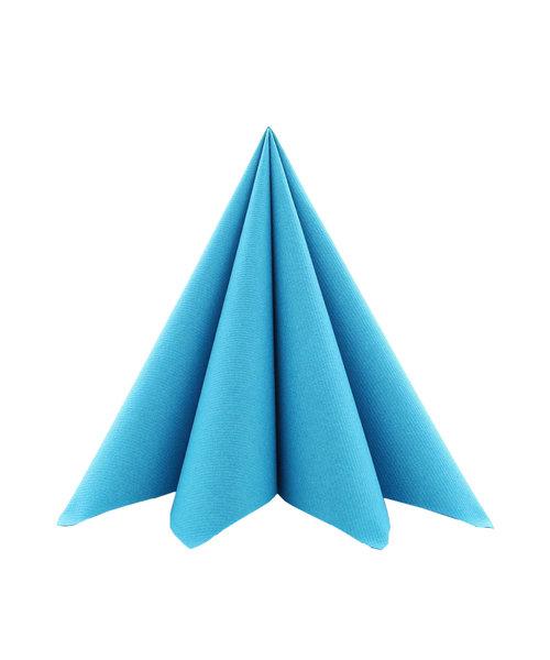 Servet Airlaid Light 24x24cm uni Aquablauw kopen
